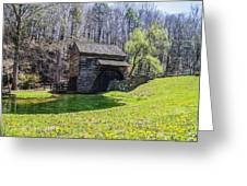 Cuttalossa Mill In The Springtime Greeting Card