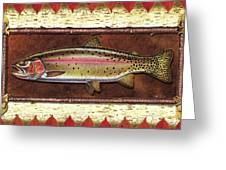 Cutthroat Trout Lodge Greeting Card