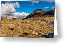 Cwm Idwal Panorama Greeting Card