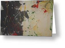 Cx 006 Chicken Blood Jasper Greeting Card