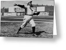 Cy Young With The Boston Americans 1908 Greeting Card
