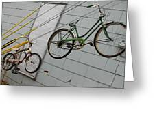 Cycles Greeting Card