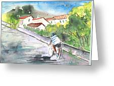 Cycling In Italy 01 Greeting Card