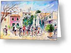 Cycling In Majorca 05 Greeting Card