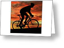 Cycling Pedal For Life Greeting Card