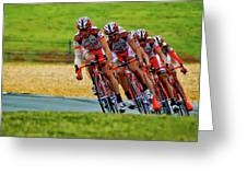 Cycling Practice Greeting Card