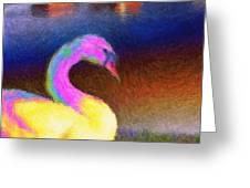 Cygnus Greeting Card