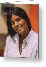 Cynthia Salazar Greeting Card