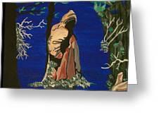 Cypress Knee Greeting Card