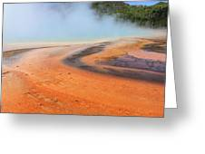 D09132 Colorful Grand Prismatic Spring Greeting Card