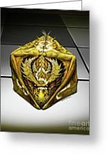 D8 Dragon Greeting Card