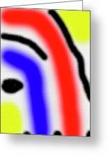 Da  Face  2002 Greeting Card