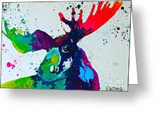 Da-moose Greeting Card