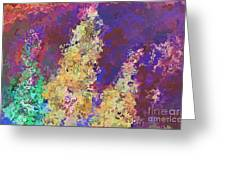 Dabble Flowers Greeting Card