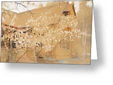 Dacha In Spring Greeting Card