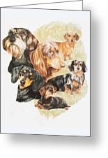 Dachshund Revamp Greeting Card