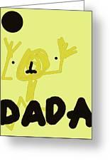 Dada Poster 1 Greeting Card