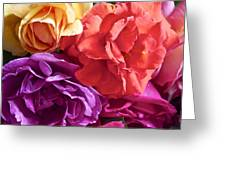 Dad's Roses Greeting Card
