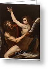 Daedalus And Icarus Greeting Card