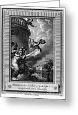 Daedalus And Perdix Greeting Card