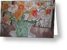 Daffodil Bouquet Greeting Card