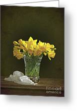 Daffodil Still Life Greeting Card