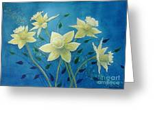 Daffodil Welcome Greeting Card