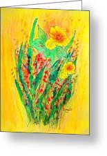 Daffodiles  Greeting Card
