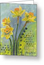 Daffodils II Greeting Card