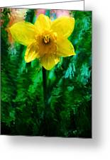 Daffy Dill Greeting Card