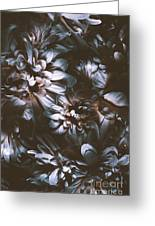 Dahlia Abstraction Greeting Card