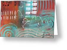 Daily Abstract Week 2, #2 Greeting Card