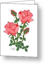 Daiquiri Roses In January 2010 Greeting Card