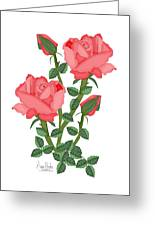 Daiquiri Roses In January 2010 Greeting Card