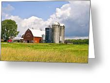 Dairy Farm Greeting Card