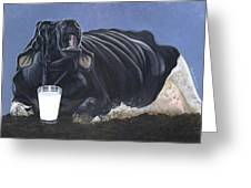 Dairy Is A Mother's Tears Greeting Card