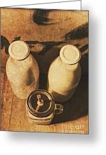 Dairy Nostalgia Greeting Card