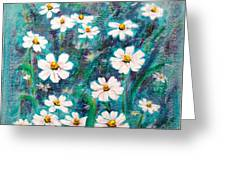 Daisies Golden Eyed Greeting Card