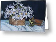 Daisies In Still Life Greeting Card