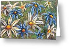 Daisies Pastel Greeting Card