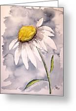Daisy Modern Poster Print Fine Art Greeting Card
