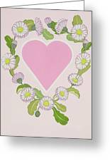 Daisy Valentine Greeting Card