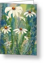 Daisy's Blues.  Greeting Card