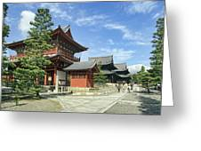 Daitokuji Zen Temple Complex - Kyoto Japan Greeting Card