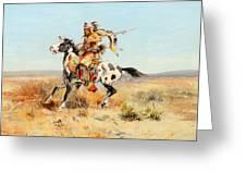Dakota Chief Greeting Card
