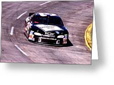 Dale Earnhardt # 3 Goodwrench Chrvrolet 1999 At Martinsville Greeting Card