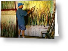 Dale Painting Greeting Card