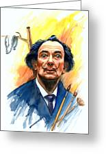 Dali Greeting Card by Ken Meyer jr