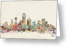 Dallas City Greeting Card