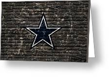 Dallas Cowboys Nfl Football Greeting Card